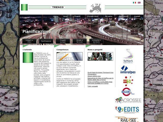 Trenco.it sito online in tempo record