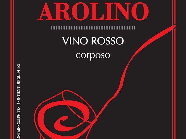 Arolino: etichette fronte retro