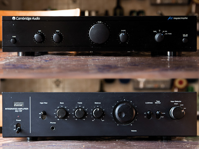 Sansui AU-117 vs Cambridge Audio A1