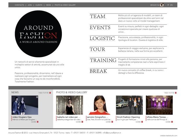 aroundfashion.it gestione server e migrazione siti su nuovo hosting