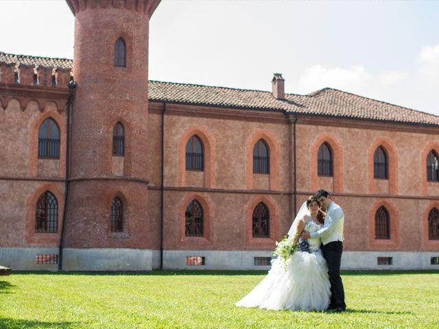 Sanja e Gabriele – sposi, foto a Pollenzo
