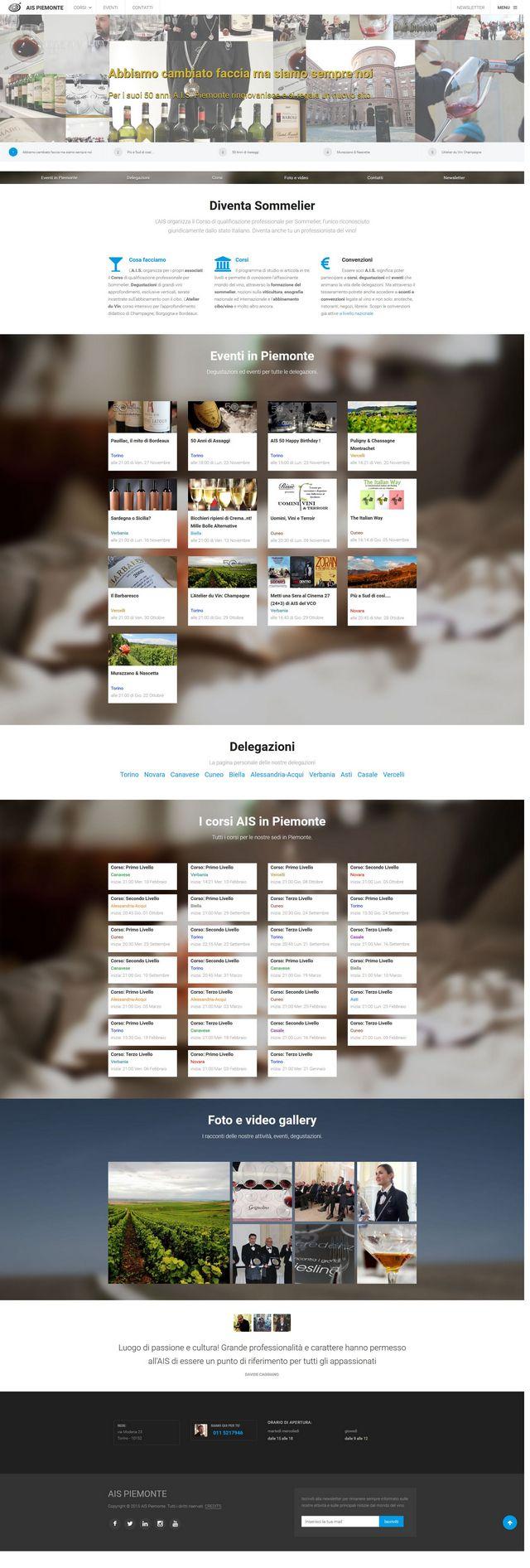 A.I.S. Piemonte nuovo sito online