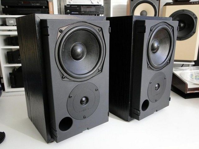 MISSION MODEL 760i SE diffusori mini monitor audiophile vintage 80′ england