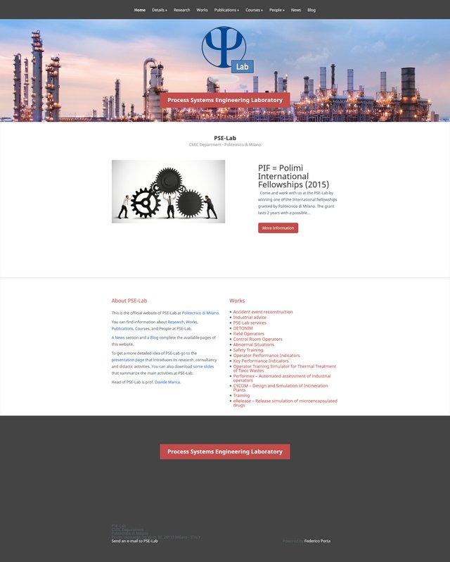 PSE Lab – chimica d'avanguardia online