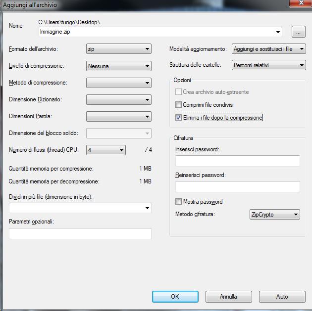 """Windows 7 metodo più semplice per eliminare un file che da """"impossibile trovare l'elemento"""""""